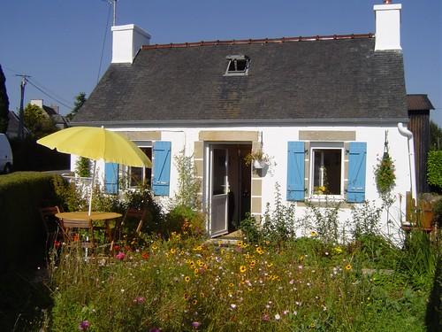 Gîte avec cheminée en Bretagne