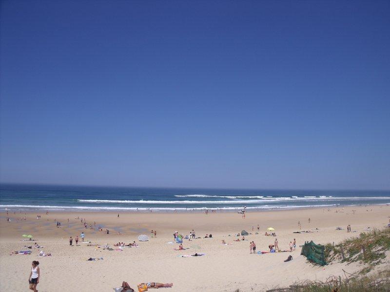 Location mimizan à 150 m de la plage, 60m2 avec jardin et parking privé