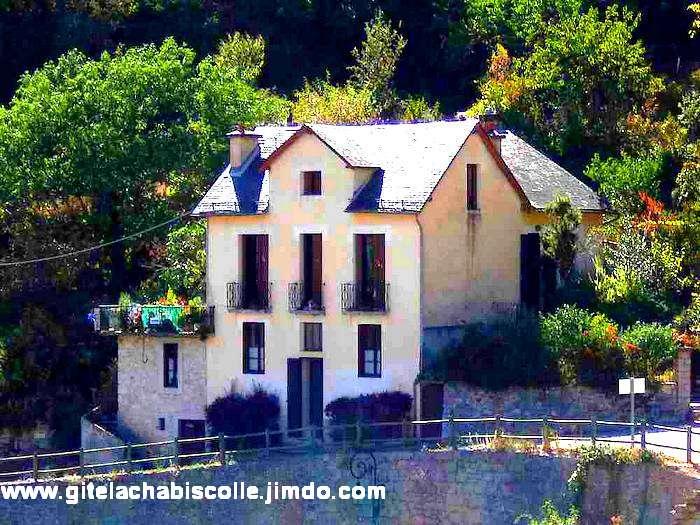 Gîte la Chabiscolle à Ste Enimie dans les Gorges du Tarn