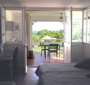 Studio Zabrico Anse des Rochers Location vacances Guadeloupe