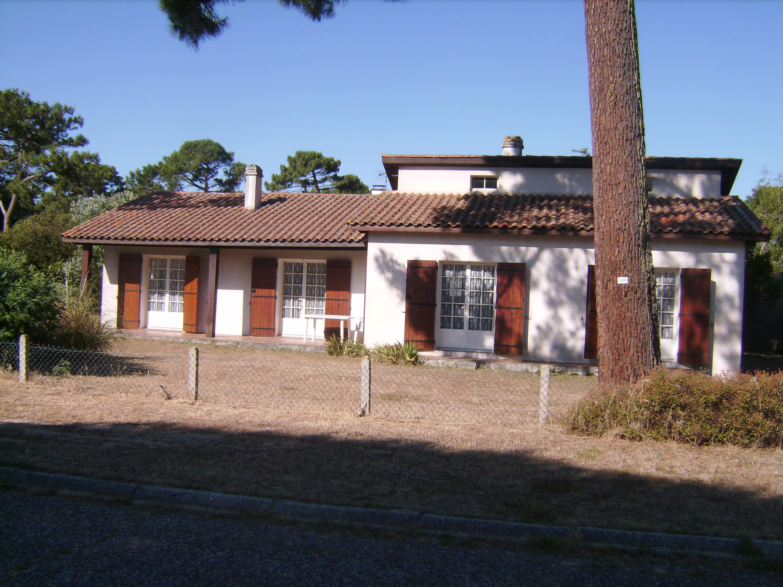 Location Villa T3 Biscarrosse Plage (Landes)