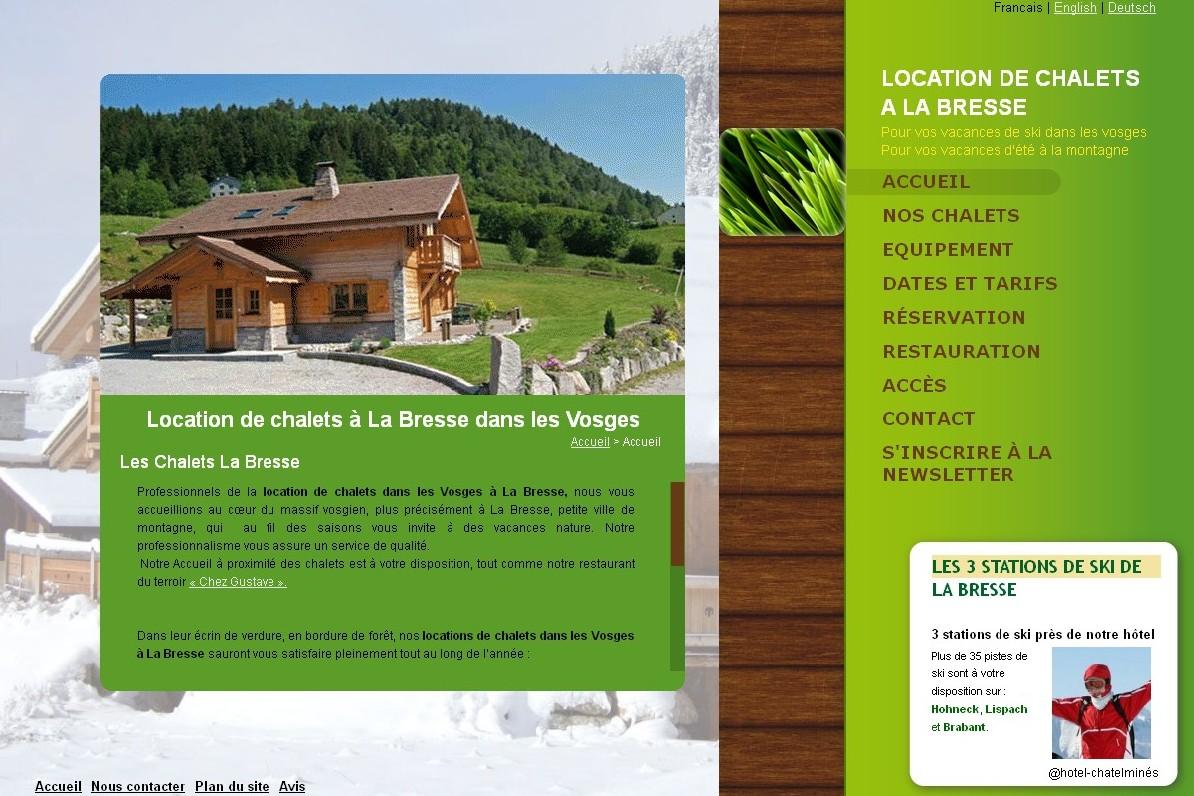 Les Chalets La Bresse – Location de chalets dans les Vosges