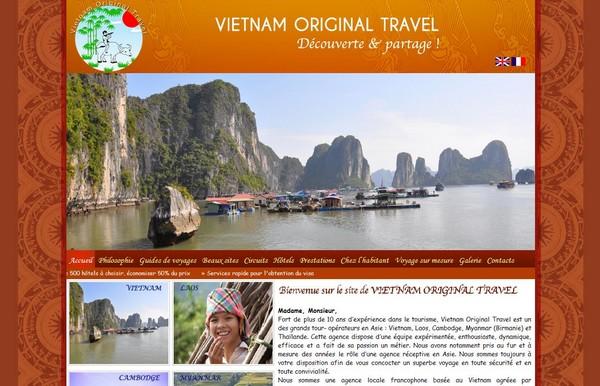 Agence de voyage réceptive & Vietnam Original Travel