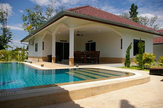 Thaïlande villa avec piscine privée près de la mer