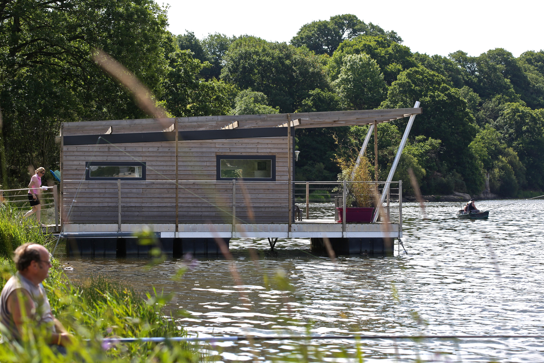 Aquashell : de la cabane sur l'eau à la maison flottante