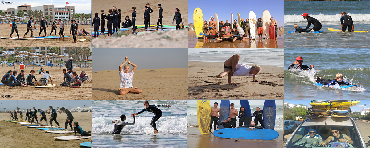 Surf Morocco Coast Surf Yoga Camp