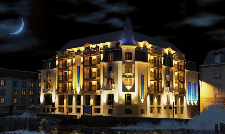 Le Nouveau Monde : Hôtel**** Spa à Saint-Malo