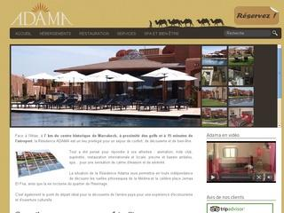 Résidence à Marrakech, Adama Resort ****
