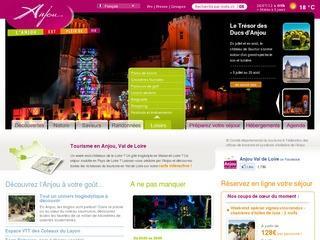 Tourisme en Anjou : Vacances et séjour en Maine et Loire