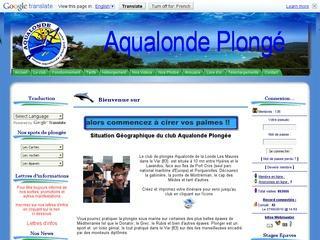 Aqualonde-plongee.com Club de plongée