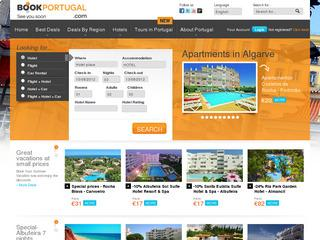 Hôtels en Algarve – Logement, Villas, Appartements pour vacances – BookPortugal.com