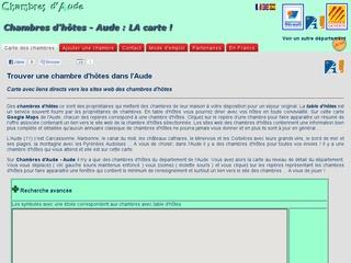 Chambres d'Aude