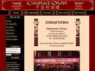 ChinaTown restaurant chinois à Forges les Eaux en Seine Maritime