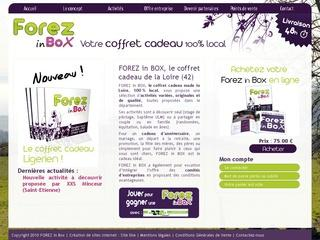 FOREZ in BOX, coffret cadeau de la Loire : 100 % local !