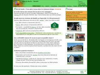 Gîte spacieux Ardennes belges