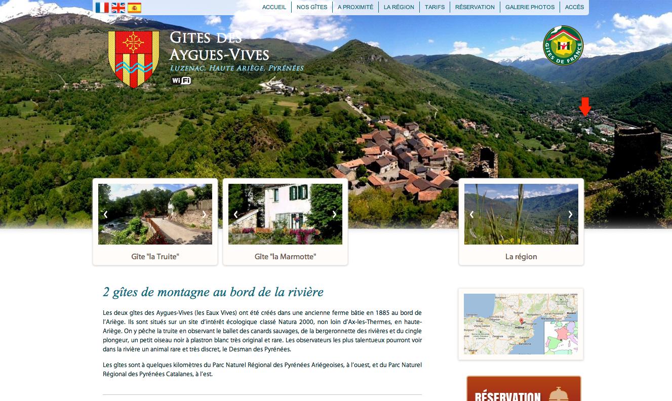 Découvrez la Haute Ariège, et nos gîtes les Aygues Vives Luzenac