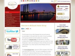 Groupe McQuade – Hôtels et Appartements en Écosse