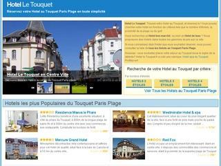 Hotel le Touquet Paris plage