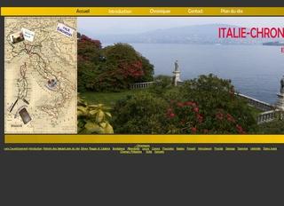 Italie chroniques