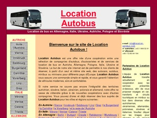 Louer bus pour voyage, transfert, excursion ou circuit touristique en Europe