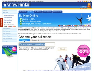 Location ski avec SnowRental
