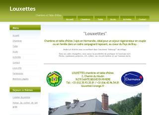 Louxettes, chambres et table d'hôtes en Normandie