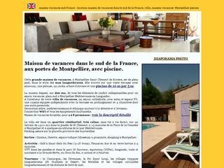 Maison vacances sud de la France