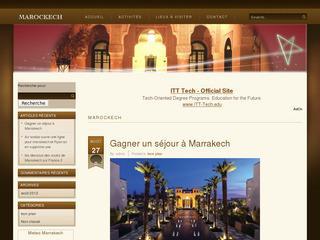 Marockech.net, pour tout connaitre sur la ville de Marrakech