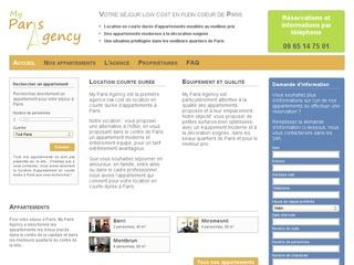 Appartements à louer en courte durée à Paris sur My Paris Agency