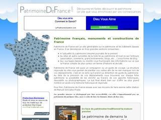 Le patrimoine classé en France