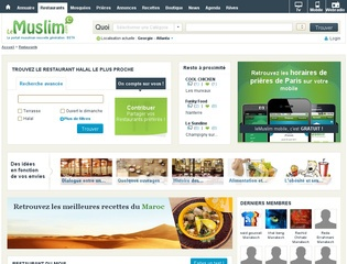 LeMuslim guide des restaurants halal