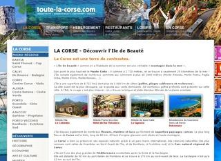 Guide de Voyage en Corse