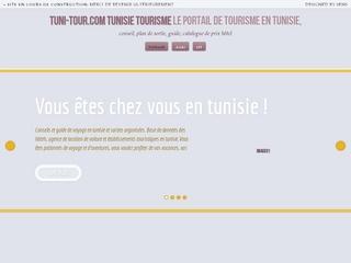 Le portail de tourisme en tunisie
