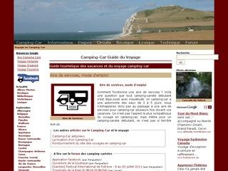 Camping-car, guide touristique